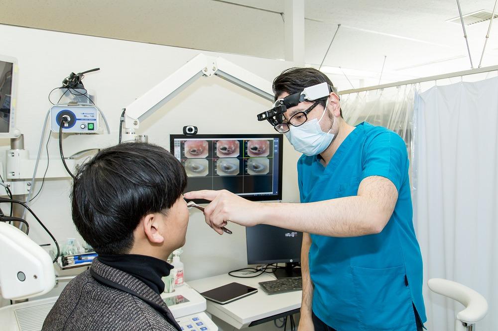 鼻中隔弯曲症の検査と診断